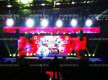 3D Energy saving LED display side running board for audi q7 advertising RGB LED display