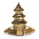 R8081Z Hot selling 3d wooden puzzle novelty children game construction building