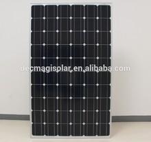 MGSM260-60 260W Monocrystalline solar pv Panels, JET, CB,TUV,CEC,CSA