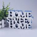 venta al por mayor hermosa decoración del hogar las letras del alfabeto