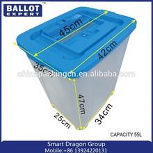 Custom Order Election plastic Ballot box/ ballot boxes in figure transparent