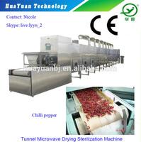 Food Industrial Tunnel Dryer / Chili Drying Machine / Food Dehydrating Equipment