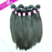 hot sale straight natural brazilian 100% virgin human hair