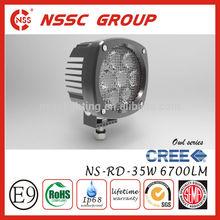 Best Price!!NSSC 12v japanese 4x4 mini truck led work light 4x4 led driving lights 35w 12v with lifetime warranty