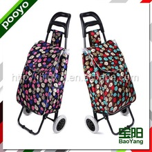 folding shopping trolley cart 2015 hotsale leisure travel bag for student