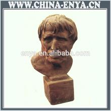 Factory Direct Sales All Kinds Of bronze grass land put bust sculpture