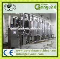 Top quality evaporated milk processing plant / evaporate milk process line