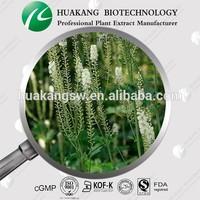 ISO/GMP factory supply black cohosh Cimicifuge racemos Vernonia aspera extract powder Triterpene Glycosides 2.5%, 5%, 8% CADY