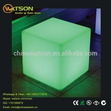 Factory direct waterproof led cube light solar light