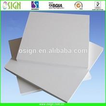 Good tenacity plastic forex sheet