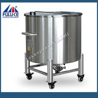 2015 FLK stainless steeldaftar harga septic tank biotech ramah lingkungan with rollers