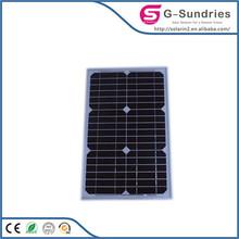 Energy saving high power 60 watt mono solar panel with tuv certificate