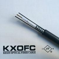 GYXTW Unitube corrugated steel tape armor 12 core fiber optic cable / 6 core optical fiber cable
