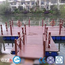 Simple installation mdpe floating pontoon