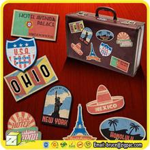 VS001161,stamps pvc sticker,travel stickers