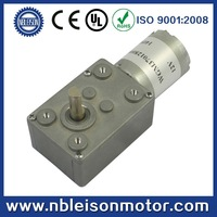 6v low rpm small dc worm gear motor