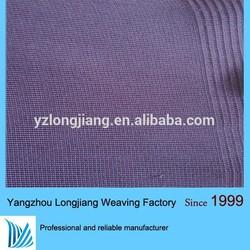 cotton / polyester dyed knitting flat rib