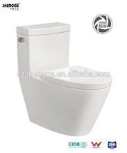 economical One-piece siphonic vortex western toilet price