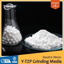OBC High hardness yttria stabilized zirconia beads/coating on alibaba/ceramics