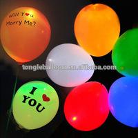 Decoration LED light balloon inflatable balloon