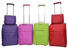 Cheap price new design trolley case EVA travel bag luggage