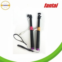 plastic head handheld camera monopod, cell-phone monopod,extendable phone holder monopod