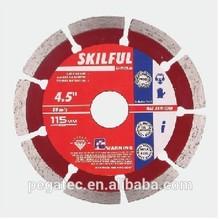 125 Segment diamond cutting wheel for stone