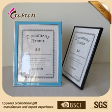 Hot handicraft A4 photo picture frame