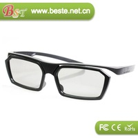 NEW!plastic circular polarized 3d glasses,master image 3d glasses for sell