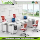 Top Selling Factory Price Ergonomic Modern Executive Table With Glass Top