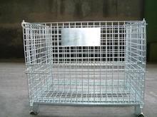 Heavy Duty Folding Steel storage cage