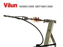 Preformados tensión conductor clamp