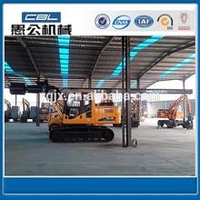 YG120 full hydraulic rotary pile driver
