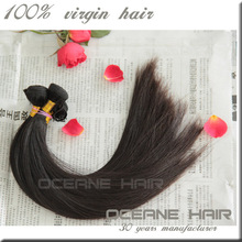 China factory hot sale no shedding no tangle no chemical different textures can be dyed human hair extension 90cm