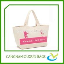 promotional reusable cotton shopper bag
