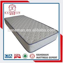 Super quality single size bed mattress