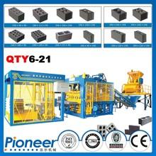 QTY6-21tanzania brick making machine for sale