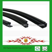 metal wire core various shaped garage door bottom seal weather strip with sponge rubber