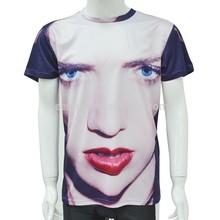 2015 Fashion design men's new sublimation printing t shirt