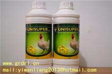 unisuper líquido oral multivitamínico para bovinos e suínos de ganho de peso feita na cidade de shijiazhuang