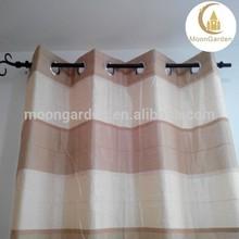 2015 fashion curtain design beautiful stripe ready made luxuy curtains