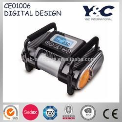 high performance portable air pump/tire inflator/car 12 volt air compressor