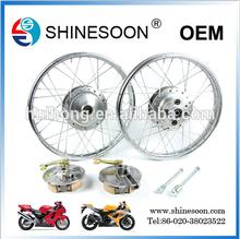 WY-125 durable motorcycle Die-cast alloy wheel