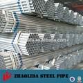 caliente sumergida galvanizado tubos de acero para poste de la cerca