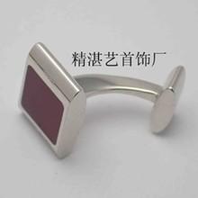 Classic red square cufflinks ,Wholesale Cufflink,metal jewelry cufflink