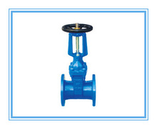 Worm Actuated Rubber-Seat Rising Stem Gate Valve