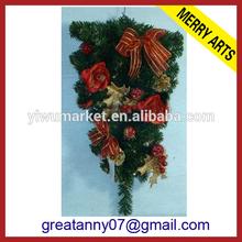 Yiwu Zhejiang Supplier Merry Arts Factory 2014 plastic decorative christmas plates christmas tree picks