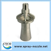 BSPT/NPT threaded SS metal fluid mixing nozzle Spray nozzle