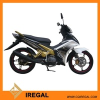 Canton manufactory white motorcycle 125cc