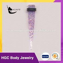 print ear taper stretcher body piercing jewelry